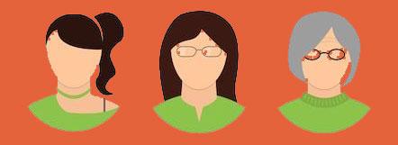 Žene u menopauzi i pubertetne djevojčice