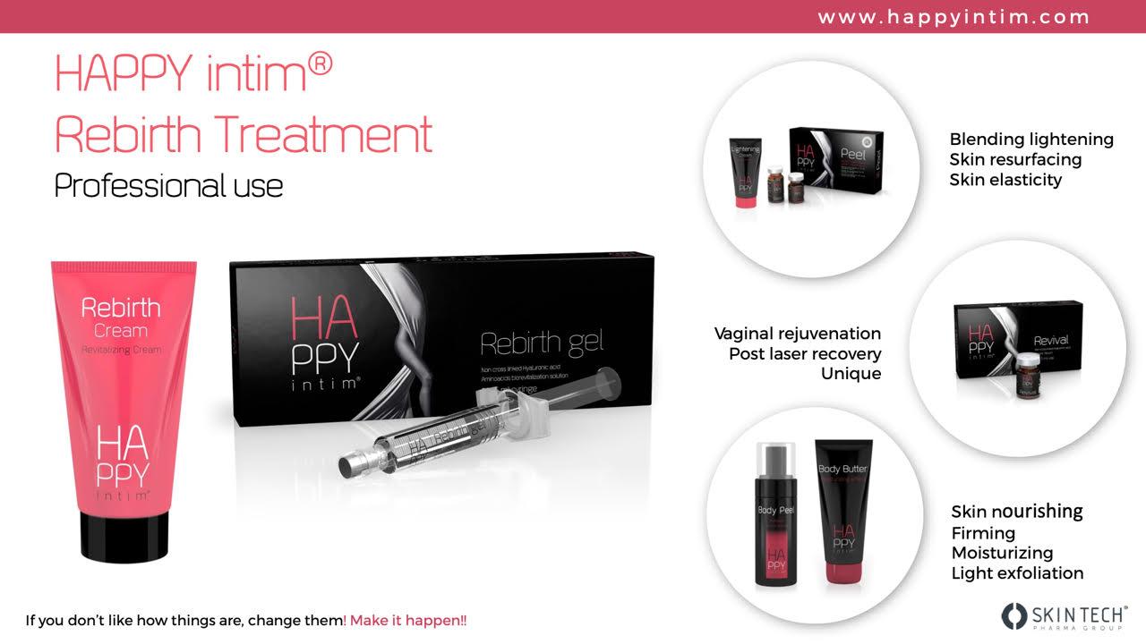 HAPPY Intim® Rebirth gel – podmlađivanje i hidratacija kože u području spolovila